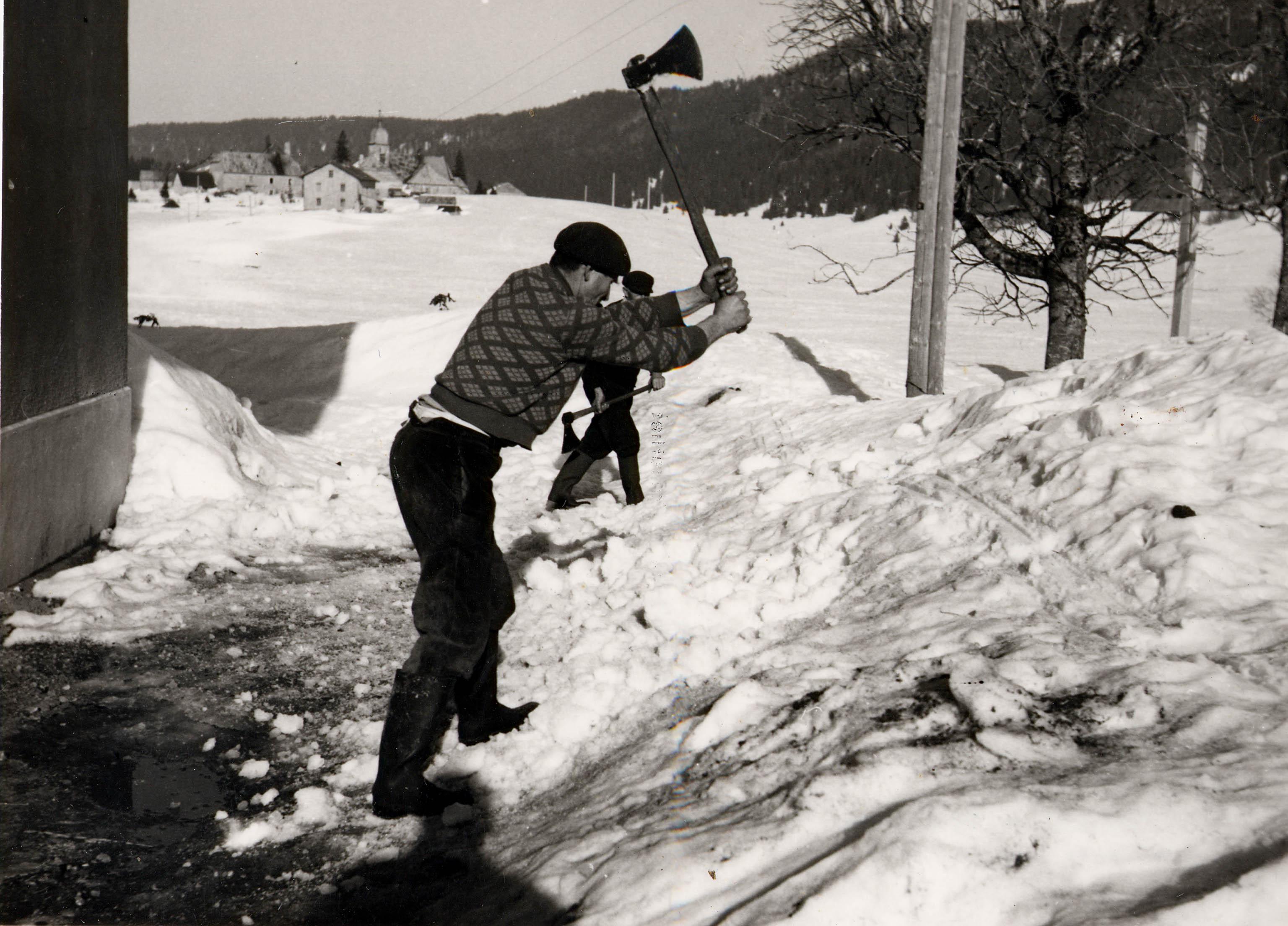 L'hiver à Chapelle des Bois
