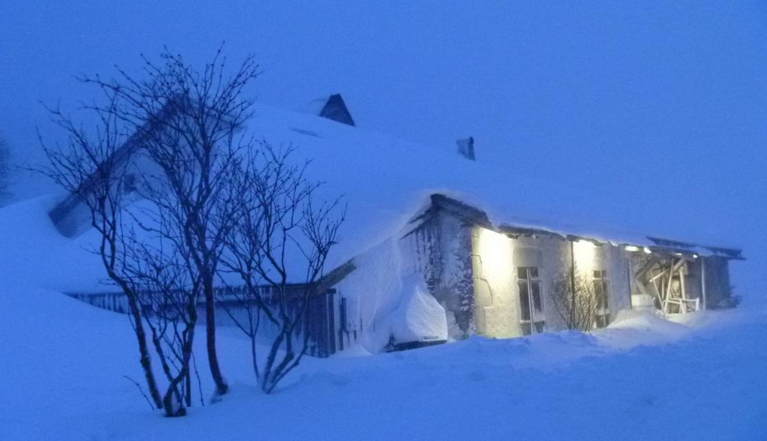 L'écomusée Michaud au cœur de l'hiver