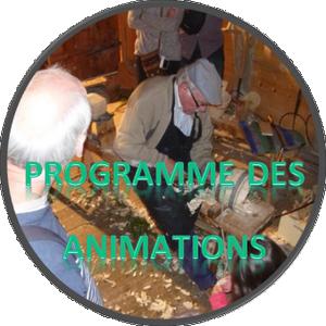 Programme des animations à l'écomusée
